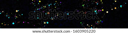 Abstract Colorful Dust Particle Background. Elegant 3D Particles. Beautiful Glowing Particles.