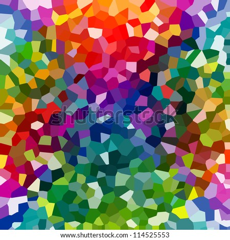 Abstract colorful mosaic pattern.