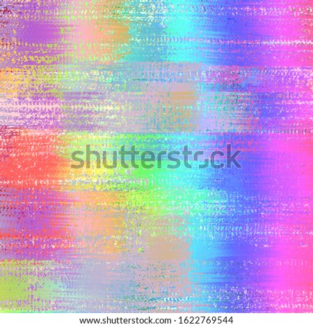 Abstract Colorful Paint Brush Color Background