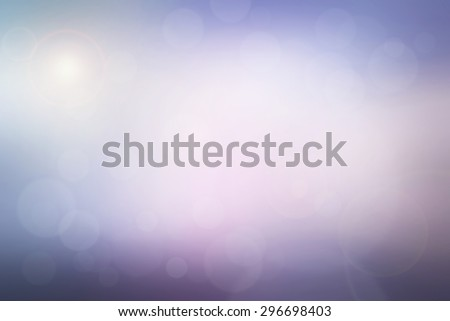 Abstract colorful pastel blurred background. pink, purple, violet and turquoise with bright sunlight and bokeh effect. use for backdrop or web design in sweet concept.