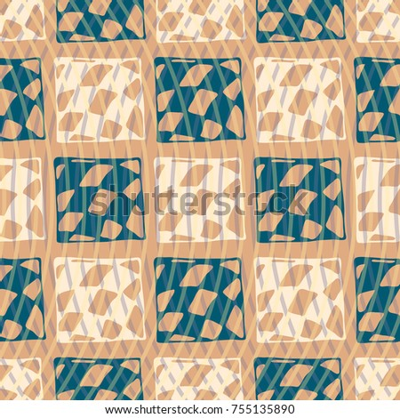 Abstract colorful pattern for background. Decorative backdrop can be used for wallpaper, pattern fills, web page background, surface textures. #755135890