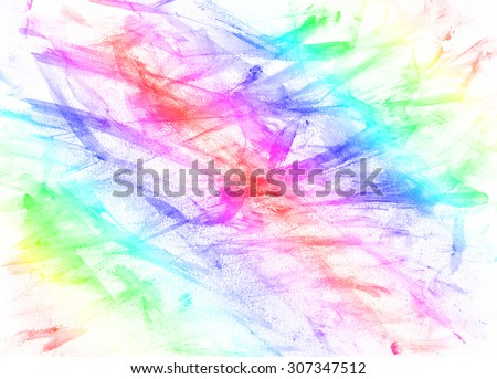 Abstract colorful rainbow painting arts for backgrounds