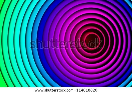 Abstract colorful rings background for print posters and copy space
