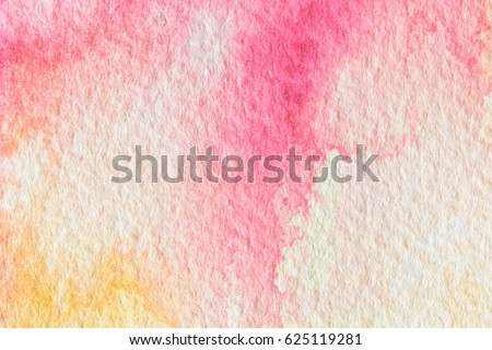Abstract colorful watercolor for background. #625119281