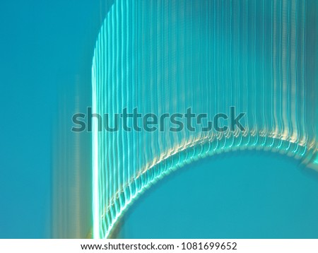 ABSTRACT COLOURED CURVES #1081699652