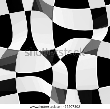 Abstract composition.Design