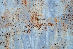 abstract corroded old paint on metal walls The wall is cracked with old paint, Rusty on old metal background ,Metal rust Texture, old metal iron rust texture