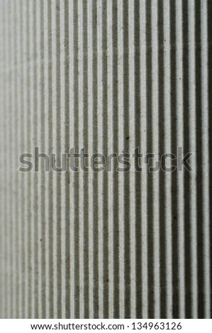 Abstract corrugated paper