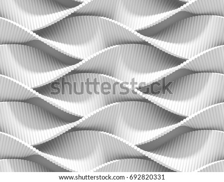 abstract curved lines...