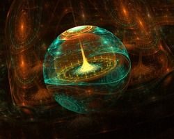 Abstract 3d fractal