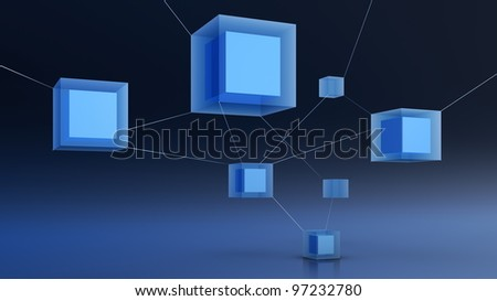 abstract 3d network