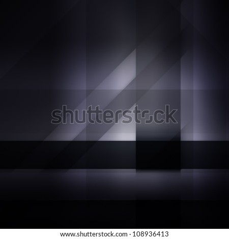 Abstract dark background for technology, business, computer or electronics products - stock photo