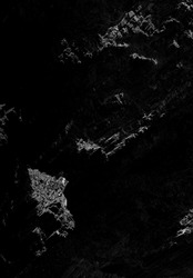 Abstract dark background made with ocean coast rocks, Vicentine Coast, Alentejo, Portugal.