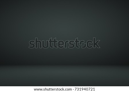 Abstract dark black gradient vignette empty space studio room for present product ad  - Shutterstock ID 731940721