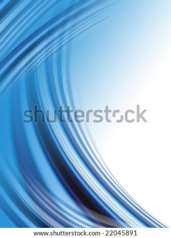 Abstract dark blue wave background