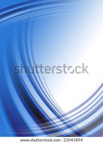 Abstract dark blue wave background