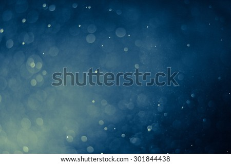 abstract dark bokhe lights background , defocused background