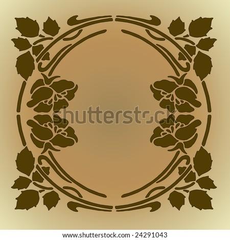 flower clip art borders. Silhouette Flower Clip Art