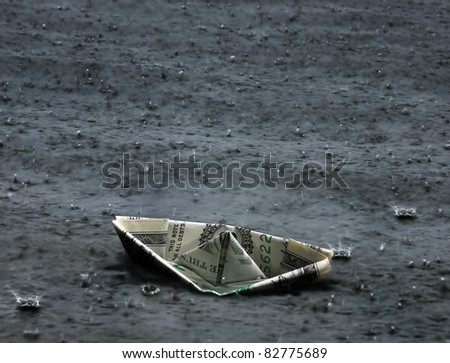 abstract dark financial problem background