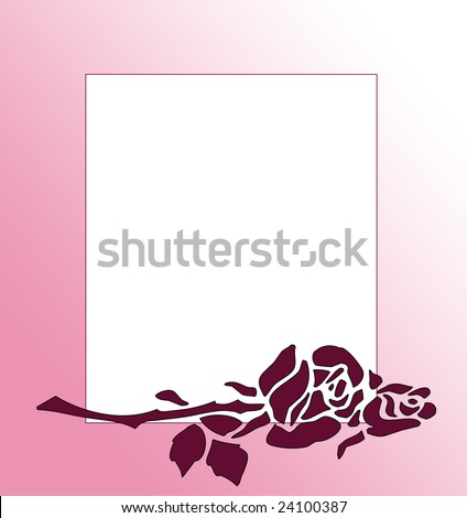 rose border clipart. Rose Flower Clip Art