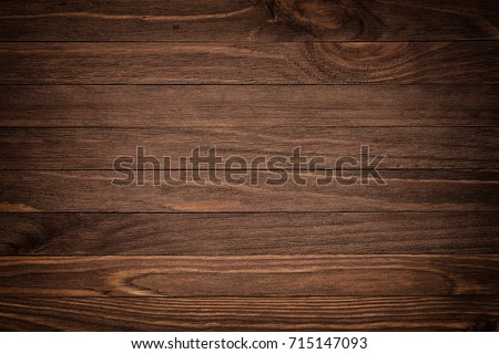 Abstract dark wooden background, vintage tone style #715147093