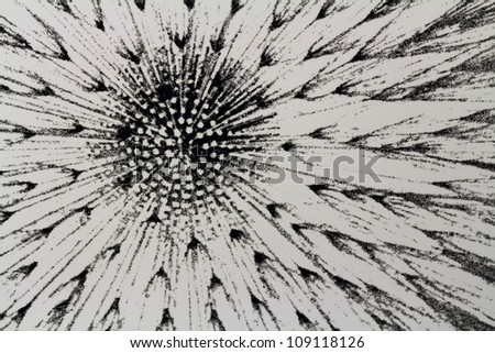 Abstract decoration pattern