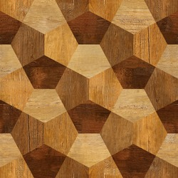 Abstract decorative blocks - Interior wall decor - decorative tiles - seamless background - wood texture - Continuous replication