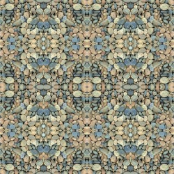 Abstract decorative gravel texture background. Seamless colorful pattern.