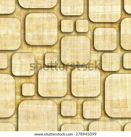 Royalty-free Geometric wooden blocks - seamless… #230940427 Stock ...