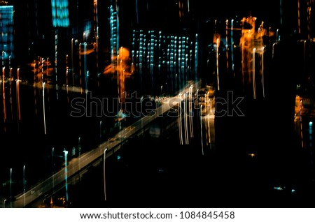 abstract defocus of colorful glittering shine bulbs lights background #1084845458