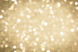 abstract defocused blurred gold background, christmas