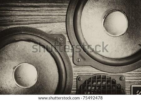 Abstract dekor speakers background