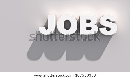 Abstract demonstration of jobs