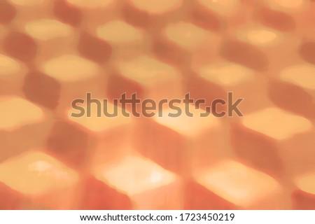 Abstract Desert Cubes Background . 3D illustration Stok fotoğraf ©
