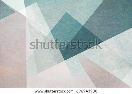 Photo of  abstract design on blue background - textured paper with watercolors