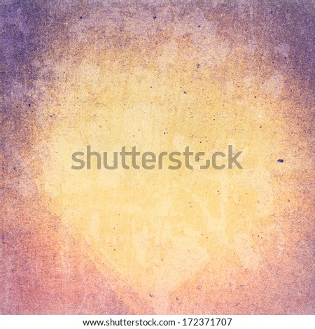 Abstract Designed  detailed grunge paper textured background. High resolution recycled colorful yellow and red cardstock. Paper vintage  background