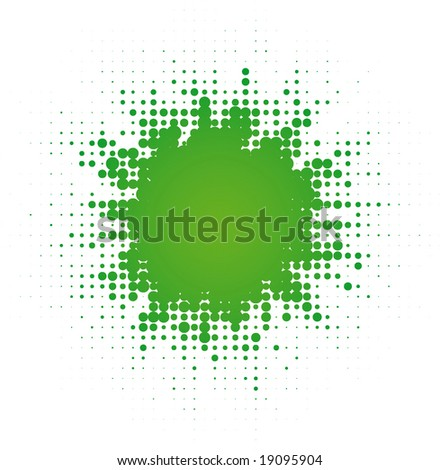 abstract digital blob   (vector in portfolio)