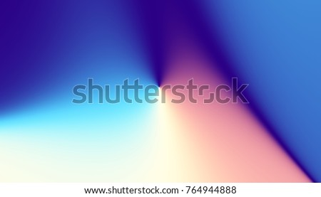 Abstract digital fractal pattern. Abstract futuristic image. Horizontal orientation.