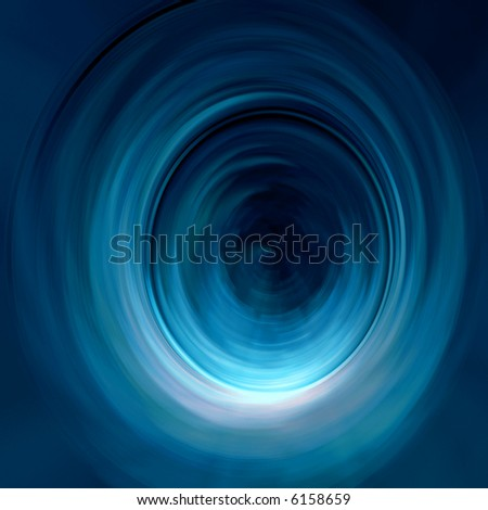 Abstract digital image representing a glowing tunnel. Great as business abstract for websites