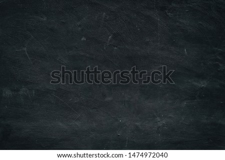 Abstract Dirty Black Chalkboard Background.