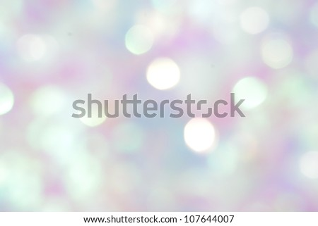 Abstract dream Winter background