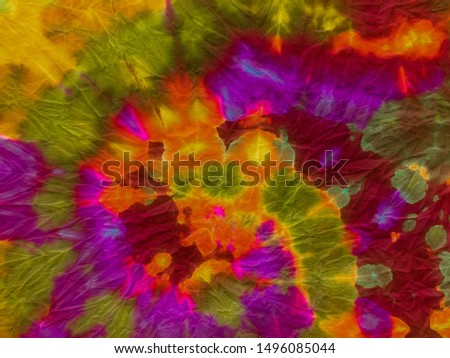 Abstract dynamic background. Dynamic artistic splashes. Mediterranean pattern. Brushstrokes on painting wallpaper. Magenta image. Tie dye. Vintage style. Old paper texture.