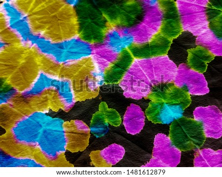 Abstract dynamic background.Dynamic artistic splashes. Tunisian pattern. Vibrant paper texture. Modern design. Brushstrokes on color background.Multicolor image.Tie dye.Dirty art.