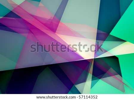 abstract dynamic composition - stock photo