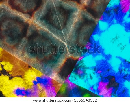 Abstract dynamic wallpaper. Dynamic artistic splashes. Fantasy pattern. Modern style. Multicolor patchwork. Brushstrokes on painting fond. Trendy tie-dye pattern. Ink blur.