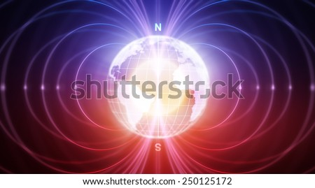 Abstract Earth with magnetic fields