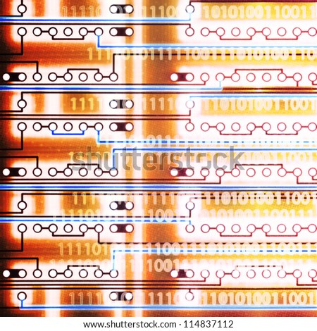 Abstract electronics backgrounds for your design