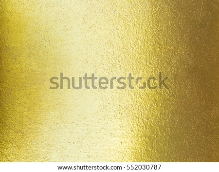 Abstract elegance gradient gold texture with light reflection, golden texture background and wallpaper #552030787