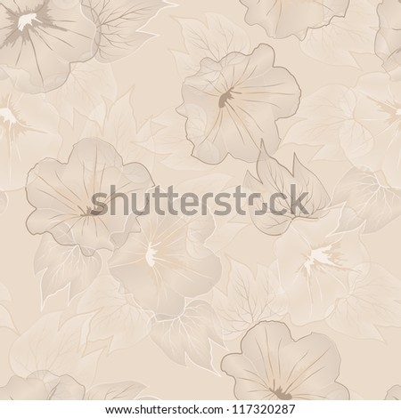 Abstract elegant floral seamless pattern.Vector file in my portfolio.