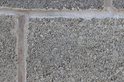 Abstract empty background. Photo of gray natural concrete old wall texture. Grey washed cement surface. Horizontal.